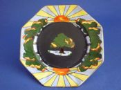 Rare Grimwades Royal Winton 'Foreste' Art Deco Tea Plate c1928